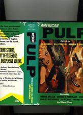 AMERICAN PULP-GORMAN,PRONZINI-1ST 1997-HB/DJ. 50'S CLASSICS FROM MANHUNT/VERDICT