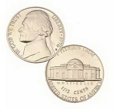 1976 S US Mint Jefferson Proof 5 Cent Nickel Coin