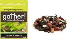 Puerh Tea - Coconut Cacao Puerh Tea - Organic Flavored Puerh Tea - 4oz