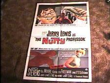 NUTTY PROFESSOR MOVIE POSTER '63 JERRY LEWIS