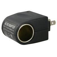 110V - 240V AC Plug To 12V DC Car Cigarette Lighter Converter Socket Adapter