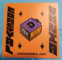 Nintendo Gamecube Console Enamel Pin Coastalvania *sold out*