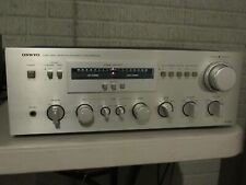 Onkyo A-7090 integrated amp, true dual mono, 110 wpc, with manual very nice!
