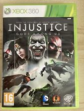 Ungerechtigkeit: Götter unter uns-Xbox 360 ** Spielen getestet & guter Zustand ***