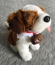 Gently Used Elf on the Shelf Pets Brown & White Plush St. Bernard Puppy Dog