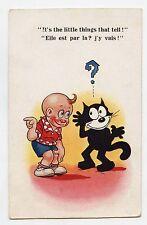 FELIX LE CHAT . THE CAT . It's the little things..... Balck cat. Chat Noir