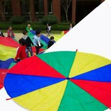 2M Kids Play Colorful Parachute Outdoor Game Exercise Sport Group Activities Toy