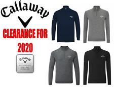 Callaway Golf Mens 1/4 Zip Sweater *VARIOUS COLOURS & SIZES*