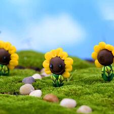 Sonnenblume Garten Figur Handwerk Micro Landschaft DIY Topfdekoration
