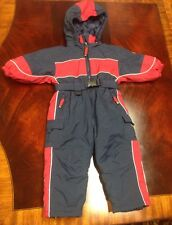 THE CHILDRENS PLACE Toddler Snowsuit ~ Removable Hood ~ Size 12 months *