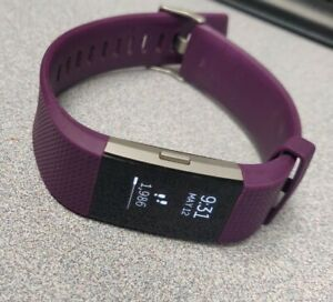 Fitbit Charge 2 Heart Rate Plum Large