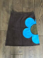 Celine Brown Suede Skirt Size 40