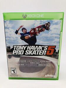 Tony Hawk's Pro Skater 5 (Microsoft Xbox One, 2015) Video Game Skate