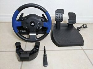 Thrustmaster T150 Force Feedback Racing Wheel, Pedals, Desk Mount (PC, PS3, PS4)