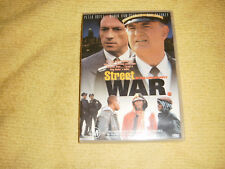 rare STREET WAR : IN THE LINE OF DUTY action 1992 DVD near NEW Peter Boyle R4