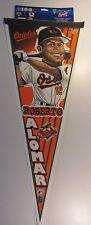 """New WinCraft Baltimore Orioles Roberto Alomar 30"""" Pennant"""