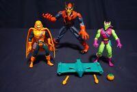 MARVEL TOY BIZ SPIDER-MAN SPIDER-GOBLIN GREEN GOBLIN HOBGOBLIN ACTION FIGURES
