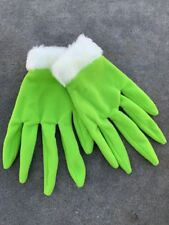 New Universal Studios Parks How The Grinch Stole Christmas Green Grinch Gloves