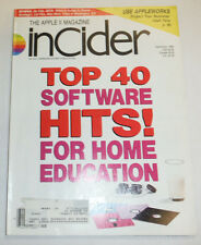 Apple InCider Magazine Top 40 Software Hits September 1988 111514R
