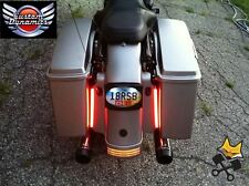 "8"" PLASMA ROD TAIL LIGHT KIT FOR HARLEY ELECTRA ROAD STREET GLIDE KING BAGGER"