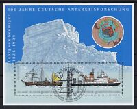 BRD 2001 gestempelt ESST Berlin MiNr. Block 57  Antarktisforschung