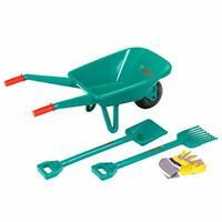 Theo Klein 2752 Bosch Garden Set with Wheelbarrow I With Shovel, Rake and