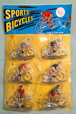 vintage sport bicycles toys MOC Hong Kong China Tour de France plastic