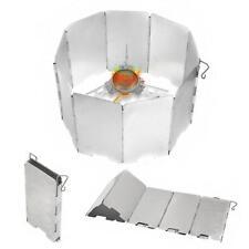 Plegable camping al aire libre cocina cocinero Cocina de gas protector de viento