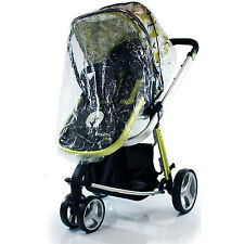 New obaby Rain Covers to fit ZEZU,GRACO SYMBIO, FUSIO PRAMETTE PRAM,pushchair