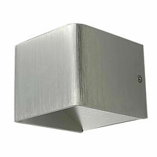Modern Cube LED Wall Light Up Down Wall Mount Indoor Sconce Aluminium 3W