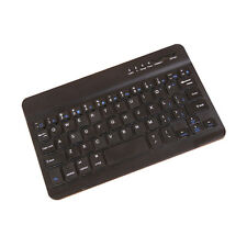 Mini clavier Bluetooth sans fil pour MAC IOS Android Tablette PC Windows (noir)