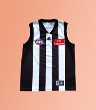 Vintage 2000s Collingwood Magpies AFL Aussie Rules Football Guerney Adidas