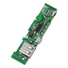 USB Mobile Phone Power Bank Charger Module PCB Board 5V 2A For 18650 Battery
