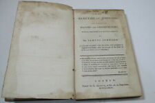 The Beauties of Johnson by Dr. Samuel Johnson, 1781, leather (G. Kearsly)