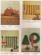 Macrame Wall Hangings & Christmas Decor Patterns #PD1131 Much Ado About Knotting