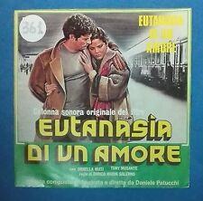 """41568 45 giri - 7"""" - Daniele Patucchi - colonna sonora """"Eutanasia di un amore"""""""