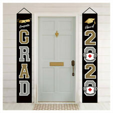 Graduation Banners Congrats Graduation Party Decorations Supplies - Hanging