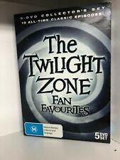 The Twilight Zone - Fan Favourites (DVD, 2012, 5-Disc Set)