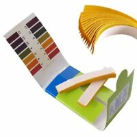4 paquets 80 bandelettes de test pH 1-14 Test +Carte de couleurs B2Z2