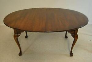 Cherry Georgian Oval Dining Table by Statton Furniture
