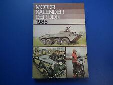 DDR Motorkalender 1985-SPW 70-Armeekrad ETZ 250 -Schaltungstips für KFZ  top Zus
