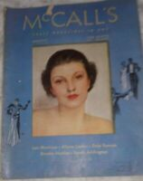 McCall's Aug 1936 NC Wyeth Interior Art; A Aein Cover