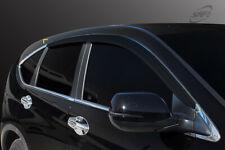 Smoke Weathershield Weather Shield 4pcs for 11/2012 ~ 05/2017 Honda CRV CR-V