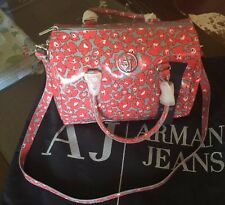 Armani Jeans Brand New Cross Body Handbag Bag + Dust Bag 32 X 22 X 17 Cm