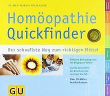 Quickfinder  Homöopathie: Der schnellste Weg zum richtig... | Buch | Zustand gut