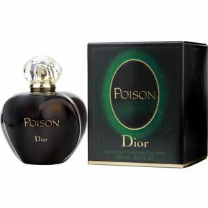 Poison Perfume for Women by Christian Dior 3.4 oz /100 ml EDT Spray, NEW, SEALED