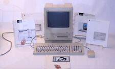 VTG Macintosh SE FDHD Model M5011 Apple Personal Computer Lot Set Working Manual