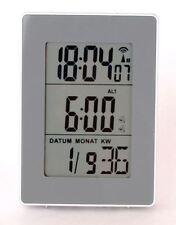 Sveglie e radiosveglie data/calendario in argento
