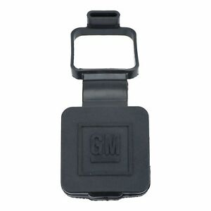 """OEM NEW Universal 2"""" Rubber Reciever Trailer Hitch Cover 2000-2014 GM Models"""