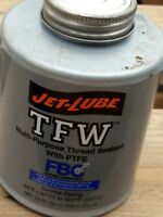 Jet-Lube TFW Multipurpose Thread Sealant with PTFE ~ 1 pint Brush Top Can